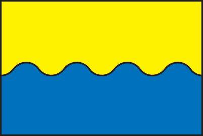 Vlajka obce Starý Kolín