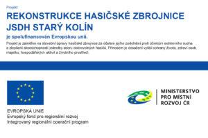 Rekonstrukce hasičské zbrojnice a nový chodník v ulici Kateřinská